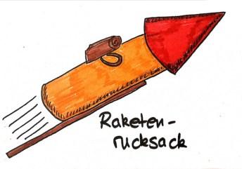 Raketenrucksack