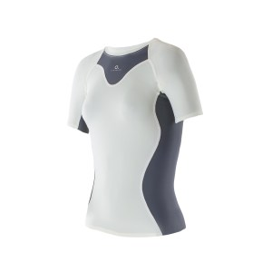 Women Athletic SS top Ivory