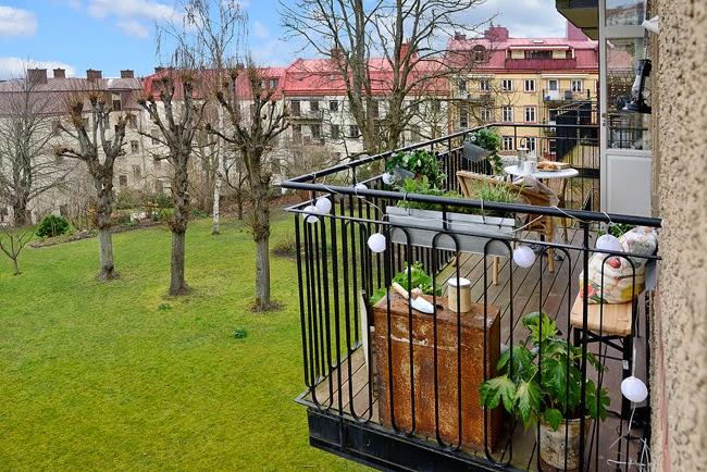 aranżacje balkon