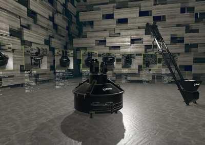 PEMAT – Industrielle Fertigungsanlage – Web3D | VR | AR