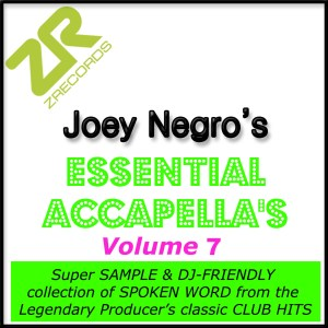 Joey Negro's Essential Acapella's Vol​.​7