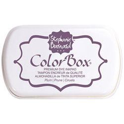 Чорнило ColorBox Premium від Stephanie Barnard, Plum, ClearSnap