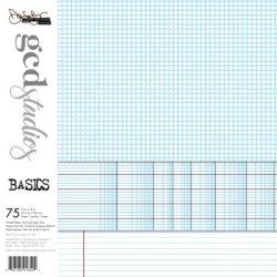 Набір паперу Basics Donna Salazar, 30х30 см, GCD Studios, 1850