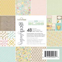 Набір картону Pure Bliss Heather Tozzi, 15х15 см, GCD Studios, 2031
