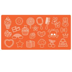 Силіконовий молд Mod Podge  Mod Molds – Large Trinkets, Plaid, 25130