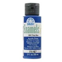 Фарба акрилова True Blue, FolkArt Enamel, 59 мл, 2841
