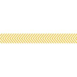 Скотч паперовий Yellow Chevron, Bella BLVD, 297
