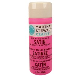 Multi-Surface Satin Acrylic Craft Paint – Bubblegum, 32043