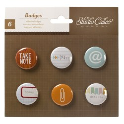Прикраси Badges, Take Note, Studio Calico, 331011