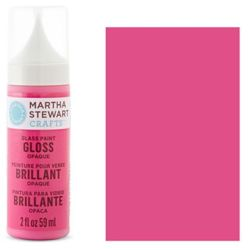 Фарба Gloss Opaque Glass Paint – Raspberry Ice, Martha Stewart Crafts™, 33109