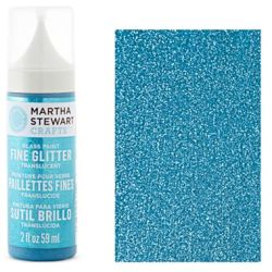 Фарба Fine Glitter Translucent Glass Paint – Lapis Lazuli, Martha Stewart Crafts™, 33126