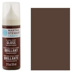 Фарба Gloss Transparent Glass Paint – Gingersnap, Martha Stewart Crafts™, 33180