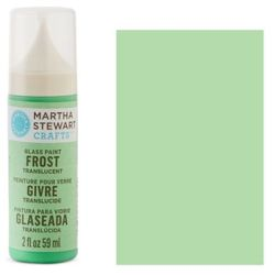 Фарба Frost Translucent Glass Paint – Pea Shoot, Martha Stewart Crafts™, 33182