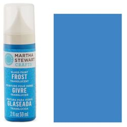Фарба Frost Translucent Glass Paint – Blue Calico, Martha Stewart Crafts™, 33187