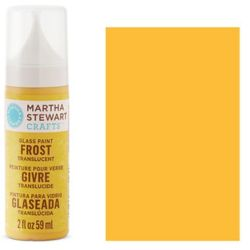 Фарба Frost Translucent Glass Paint – Yellow Jacket, Martha Stewart Crafts™, 33195