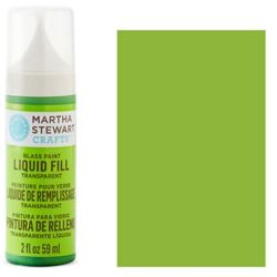 Фарба Liquid Fill Transparent Glass Paint – Key Lime, Martha Stewart Crafts™, 33203