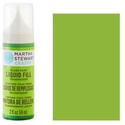 Фарба Liquid Fill Transparent Glass Paint – Key Lime, Martha Stewart Crafts™, 33203