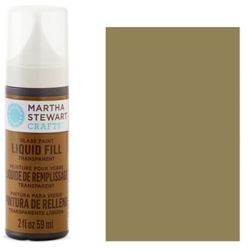 Фарба Liquid Fill Transparent Glass Paint – English Tea, Martha Stewart Crafts™, 33215
