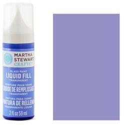 Фарба Liquid Fill Transparent Glass Paint – Freesia, Martha Stewart Crafts™, 33219
