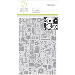 Папка для тиснення Amelia, Studio Calico – Seven Paper, 332383