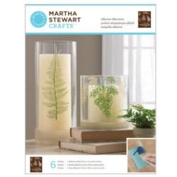 Трафарет Ferns Glass Silkscreen, Martha Stewart Crafts™, 33245