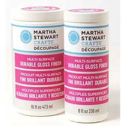 Лак для декупажу Multi-Surface Finish Durable Gloss, Martha Stewart Crafts , 33276