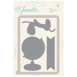 Ножі  Shimelle – Globe/Lovely/Banner, American Crafts, 368179