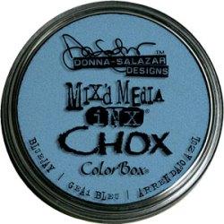 Крейдова штемпельна подушечка Mix'd Media Inx Chox, Bluejay, ClearSnap, 37502