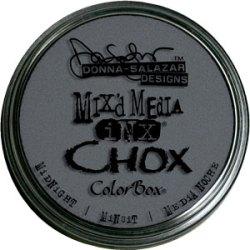 Крейдова штемпельна подушечка Mix'd Media Inx Chox, Midnight, ClearSnap, 37508