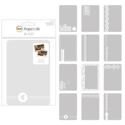 Фото оверлеї Set 4, Project Life, American Crafts, 380283