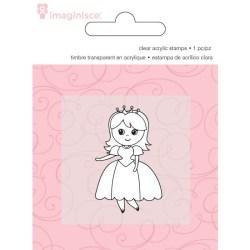 Штамп акриловий Princess, Imaginisce, 400627