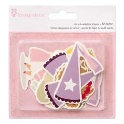 Висічки картонні Princess, Imaginisce, 400632
