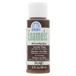 Фарба акрилова Coffee Bean, FolkArt Enamel, 59 мл, 4013