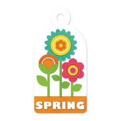 Тег з тисненням Embossed Tags – Spring, 41637-1, 6 шт