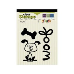 Штампи Friends Furever Clear Stamps Woof, We R Memory Keepers, 41886-3