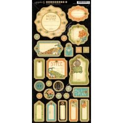 Набір висічок Artisan Style One, Graphic 45, 4501119