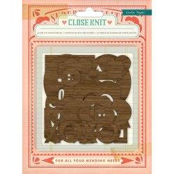 Фігурки дерев'яні Close Knit, Crate Paper, 683323