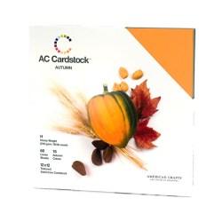 Набір картону Autumn, American Crafts, 30х30 см, 71255