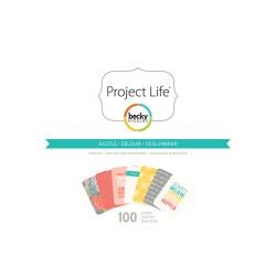 Міні набір Jen Hadfield, Project Life, American Crafts, 732637