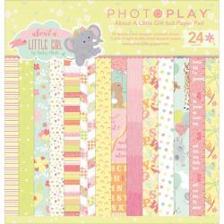 Набір паперу About a Little Girl, 15х15см, Photoplay, ALG2467
