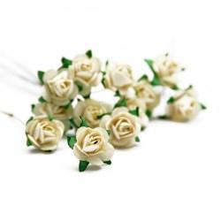 Букет троянд Open Rose Cream, 12 шт, BRB1495CM