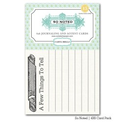 Картки для журналінгу So Noted, Carta Bella, CBSN13021