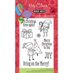 Штампи Bring On The Merry, Hero Arts, CL644