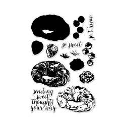 Штампи Color Layering Croissant, Hero Arts, CM134