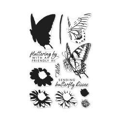 Штампи Color Layering Swallowtail, Hero Arts, CM225
