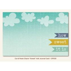Картка для журналінгу Sweet (Cut & Paste), My Mind's Eye, CP1031