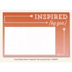 Картка для журналінгу Inspired (Cut & Paste), My Mind's Eye, CP2007