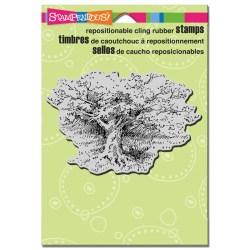 Штамп гумовий Shade Tree, Stampendous, CRP160