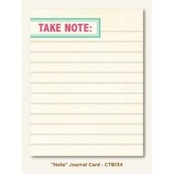 Картка для журналінгу Note (Collectable), My Mind's Eye, CTB134
