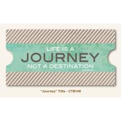 Картка для журналінгу Journey, My Mind's Eye, CTB148